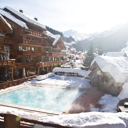 hotel le tremplin meribel-outdoor pool