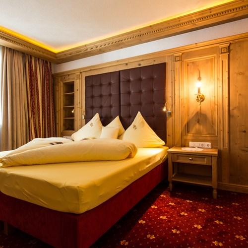 Hotel Alte Post, ski accommodation St Anton, Austria. Double room