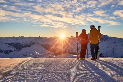 luxury skiing in Ischgl