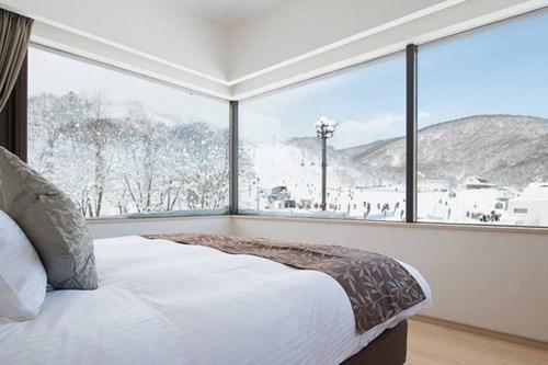 Luxury ski views