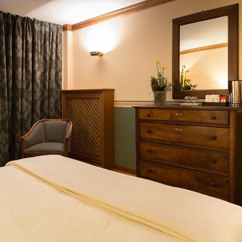 Hotel Gran Baita Courmayeur room with mountain views