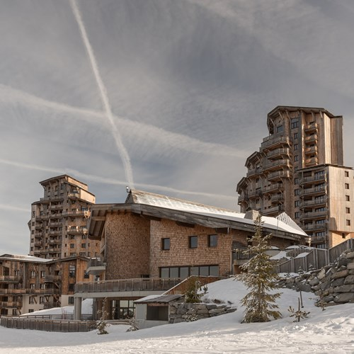 Residence L'Amara Avoriaz France day residence and snow.
