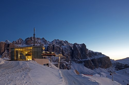 Skiing in Cortina for beginners