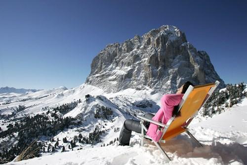 Selva, Sella Ronda, second largest ski area in the world