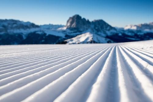 extensive ski area