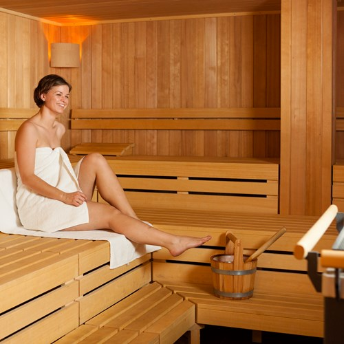 Spa and sauna at Explorer Hotel, ski accommodation in Austria