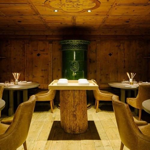 Hotel Cristallo in Cortina, Italy restaurant