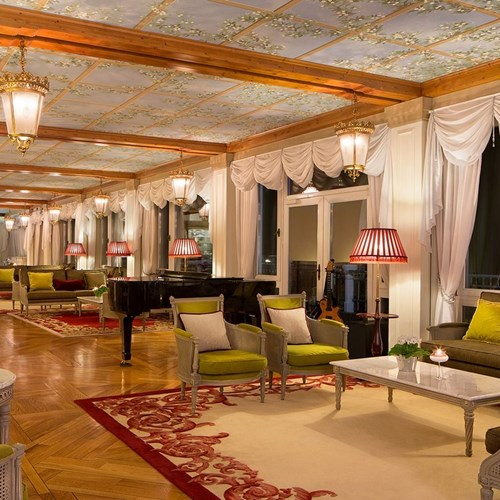ski accommodation in Cortina ski resort, the lounge