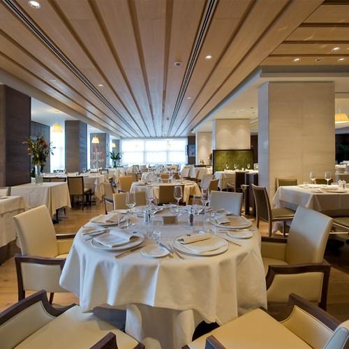 Savoy restaurant at the Grand Hotel Savoia Cortina