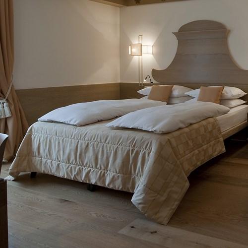 comfort room at the Grand Hotel Savoia Cortina