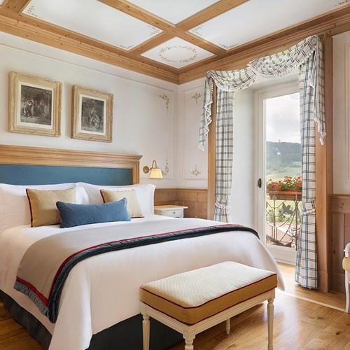 barro room at Hotel Cristallo in Cortina, Italy