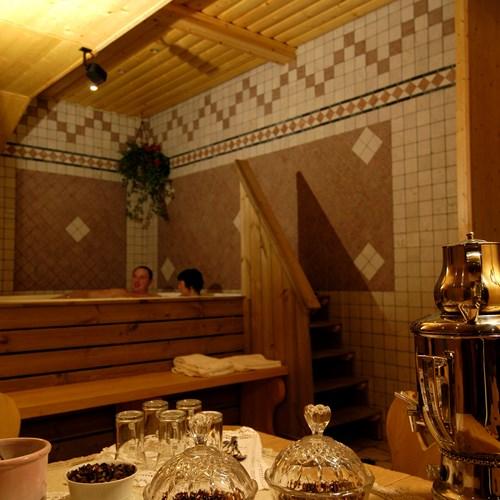 Hotel Olimpia Cortina wellness area