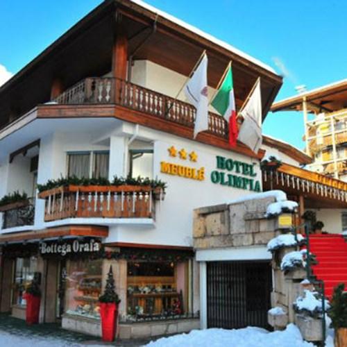Hotel Olimpia Cortina - ski accommodation exterior