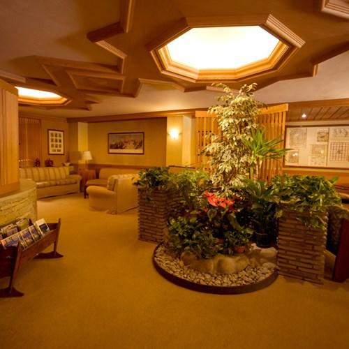 seating in Hotel Pavillon Courmayeur