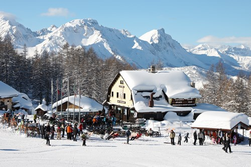sauze d'oulx ski huts in sunshine affordable ski breaks