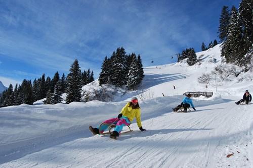 tobogganing in st anton, short ski breaks