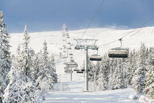 trysil chair lift
