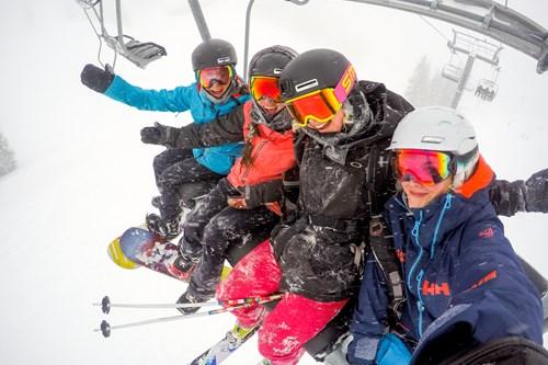 Aspen Snowmass chairlift mates