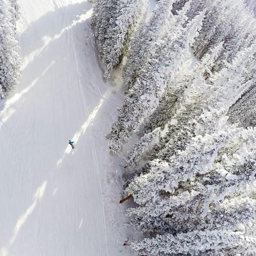 Aspen Snowmass birds eye view