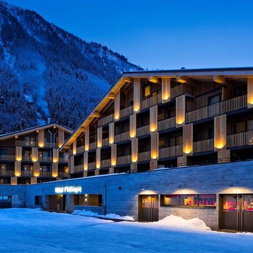 Hotel Heliopic-Chamonix-France-Hotel exterior