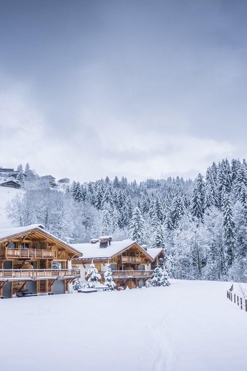 Megeve ski resort, France ski breaks-chalets in the snow