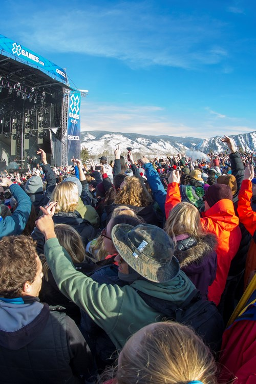 Aspen Snowmass USA x games stage and crowd.jpg