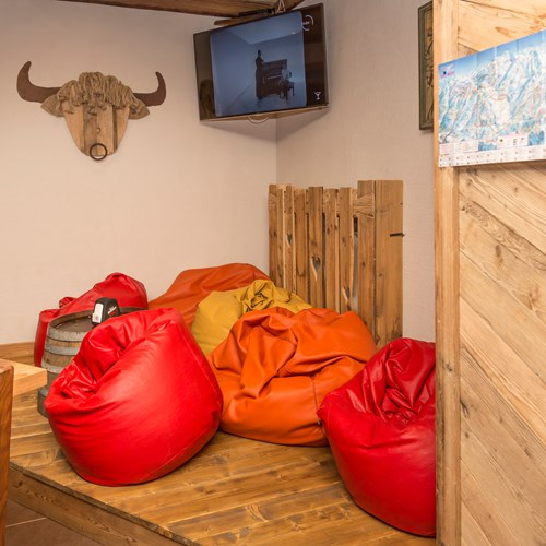 Hotel Clotes Sauze d'Oulx bean bag seating