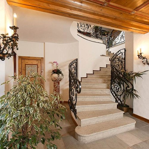 staircase Hotel Cortina ski accommodation