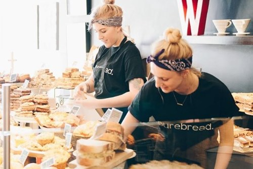Purebread Bakery girls