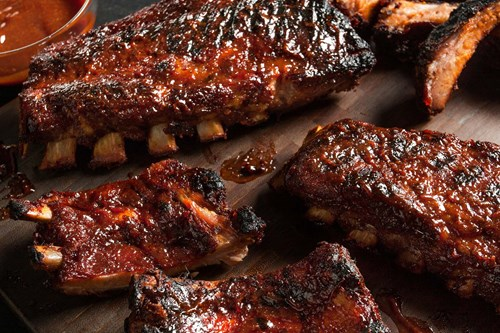 dusty's finger lickin ribs and bbq sauce
