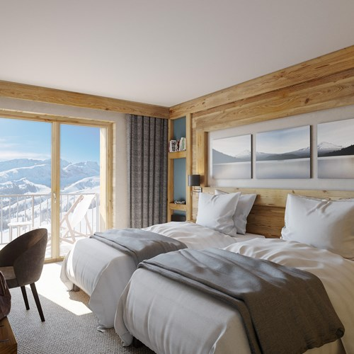 avancher hotel val d'isere-comfort room