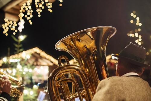 Christmas ski breaks trombone