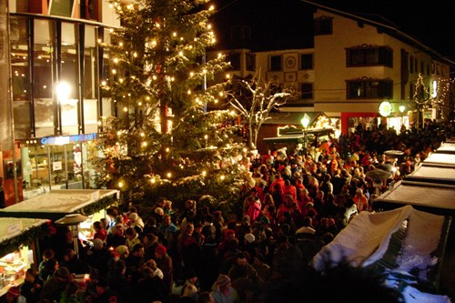 christmas skiing in St Anton