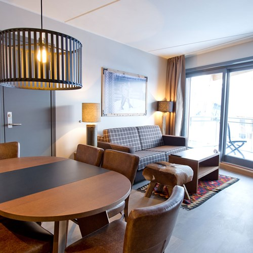 two bedroom apartment at the Radisson Blu Mountain Resort Trysil