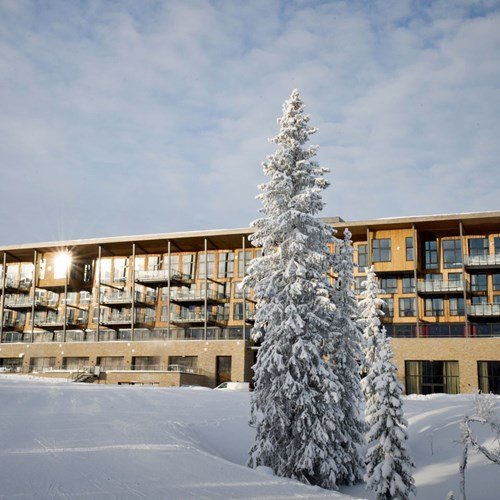 Radisson Blu Mountain Resort Trysil snow exterior