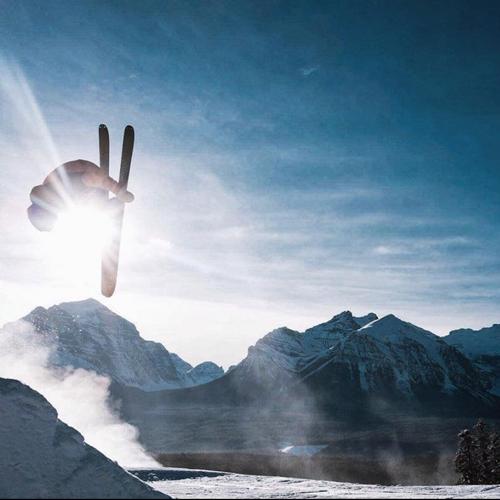 ski jumping in Banff