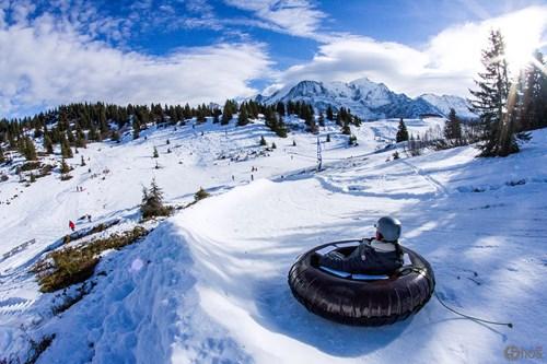 Chamonix ski weekends France tubing slope winter activities