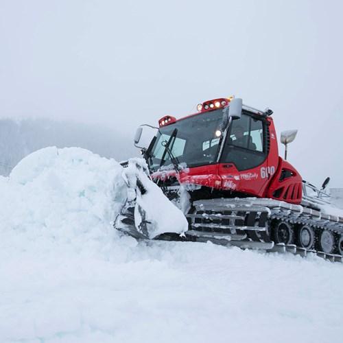 Courchevel heavy snow