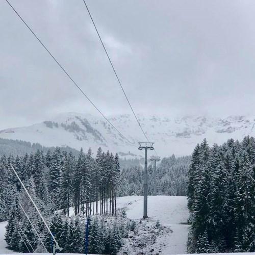 St Johann snow dusting 13-11-2017
