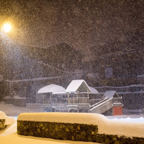 Val Thorens snowfall yesterday