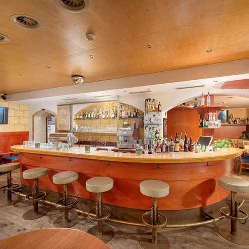 Bar at Hotel Fischer, ski accommodation in St Johann, Austria