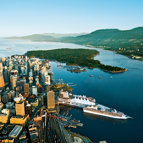 Vancouver island aerial - Vancouver Aerial