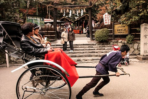 rickshaw, Kyoto twin centre