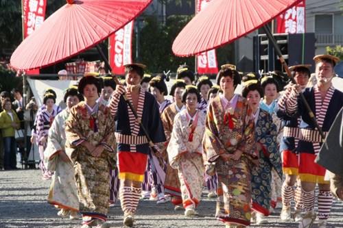 Japan ski holidays, Tokyo parade