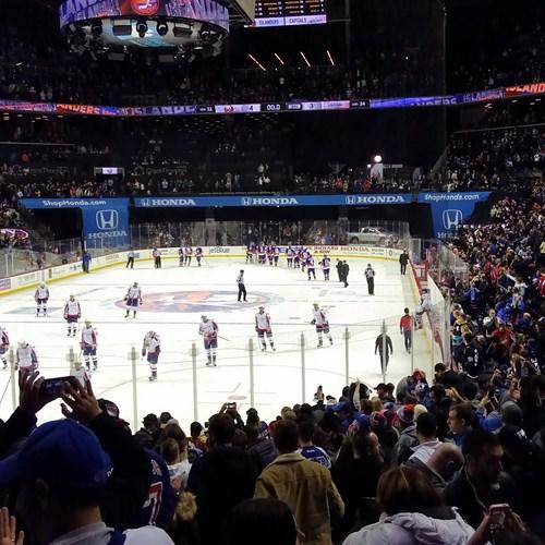 New York multi centre, ice hockey match