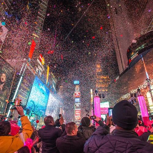 New York twin centre, Times Square