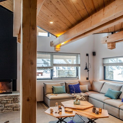 Flexiski Operated Chalet Des Cascades Les Arcs Living Area