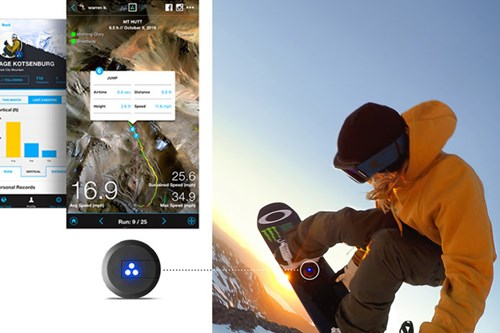 Sports tracker, cool stuff for skiers