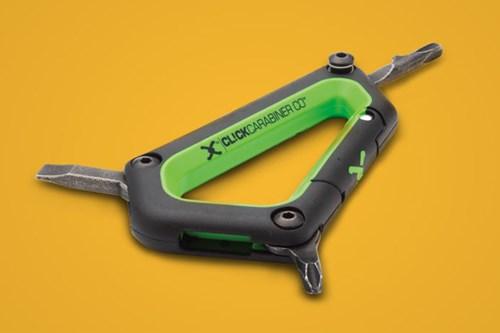 Carabiner, ski tool
