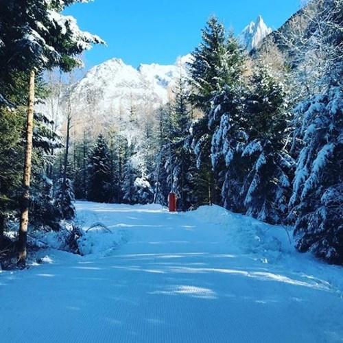 Chamonix new snow